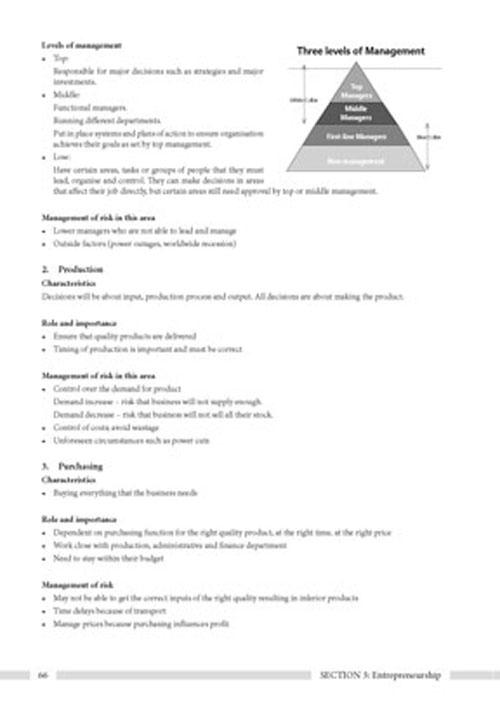 Ace it! Study Guides Economic And Management Sciences